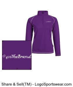 Ladies Mid Baselayer Pullover Design Zoom